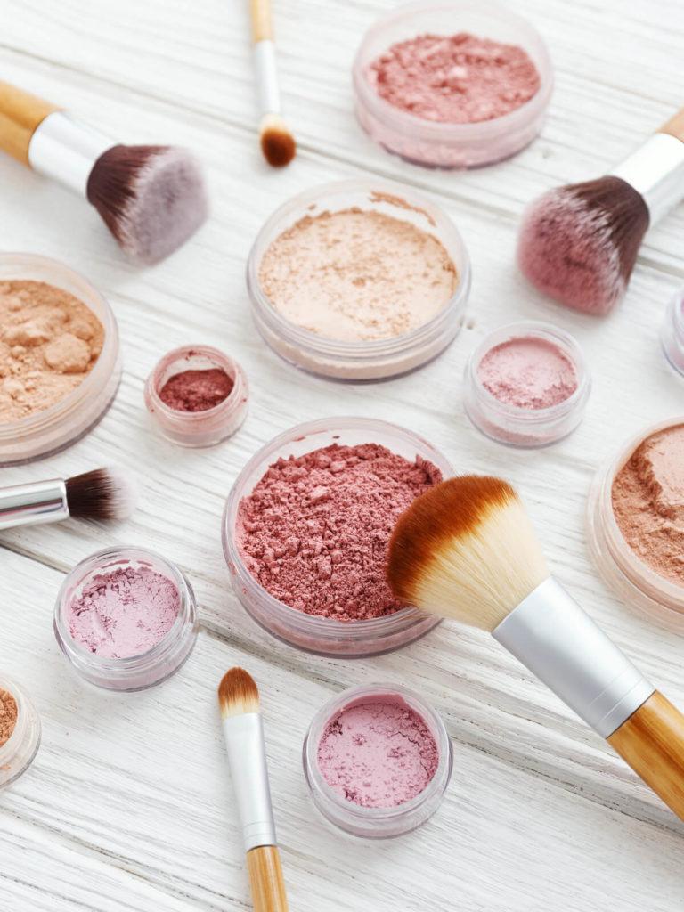 veganske makeup produkter