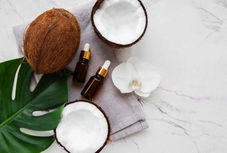 Kokosolie-opskrifter til ansigt, krop og hår