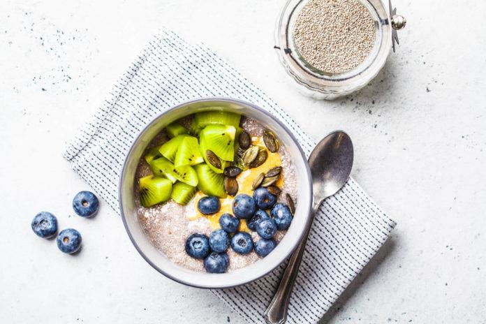 vegansk morgenmad